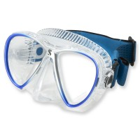 Synergy Twin Trufit blau - weicher Maskenkörper mit Comfort Strap von Scubapro