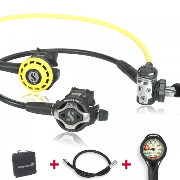Scubapro MK 17 EVO S620 TI Set - geprüft und montiert