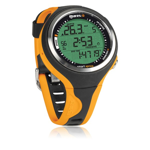 Mares Smart Apnea Freitauchcomputer - orange