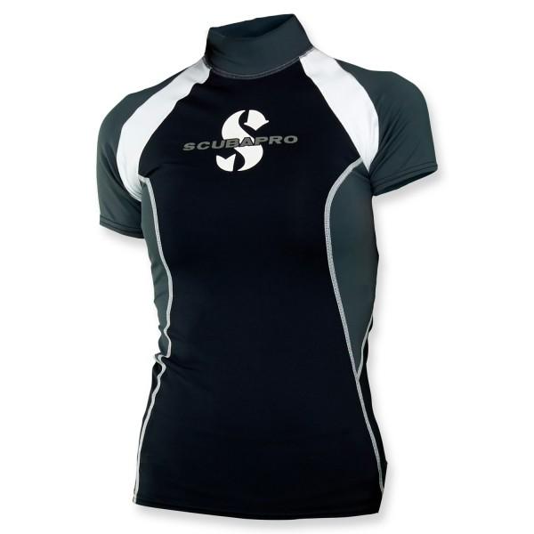 Scubapro T-Flex Lycra Shirt Damen - graphite kurzarm UPF 80