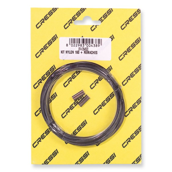 Cressi Competition Nylon Thread - Durchmesser 1,6 mm, 5 Meter lang