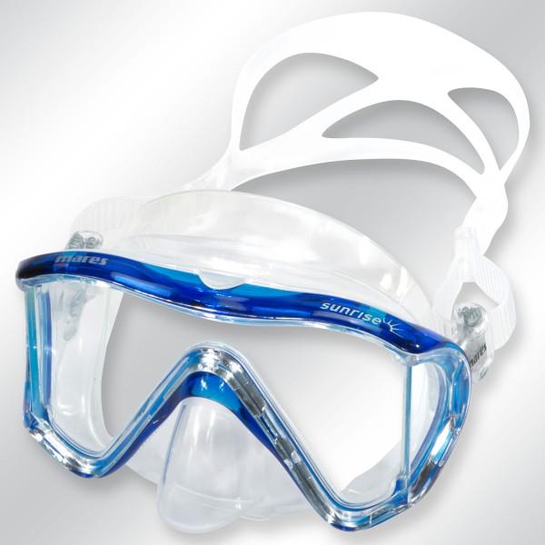 Mares i3 sunrise - Tauchmaske für schmale Gesichter