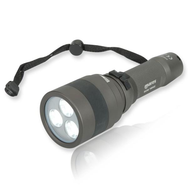Mares EOS 15RZ Tauchlampe - Leuchtwinkel verstellbar