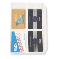 PADI Vinyl Card Holder für Tauchausweise