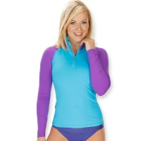 Camaro Rash Guard Ultradry - Damen Longsleeve UPF 50 plus
