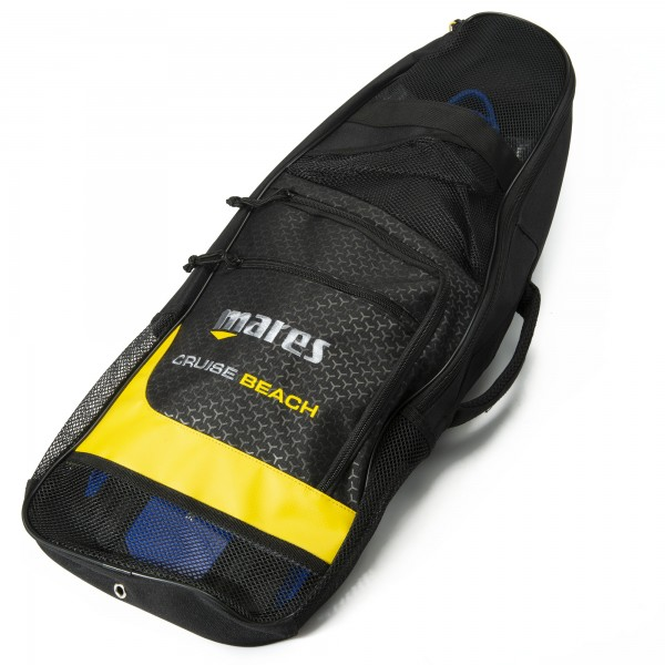 Mares Cruise Beach Bag yellow line - Tasche für Schnorchelausrüstung