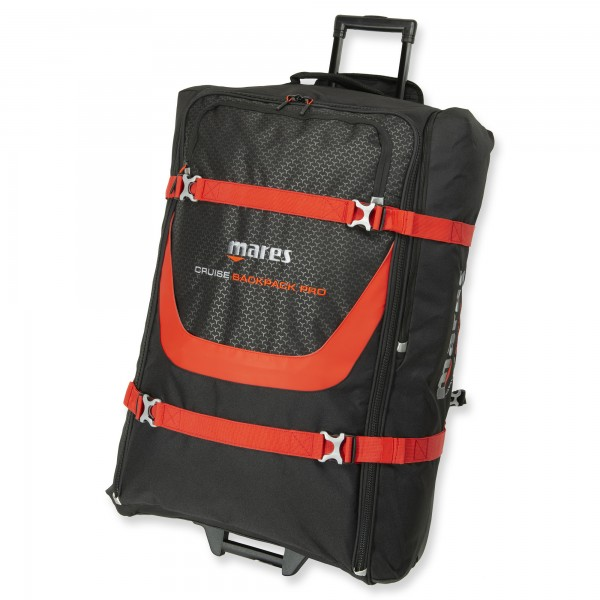 Mares Cruise Backpack Pro red line - grosser Rollenrucksack