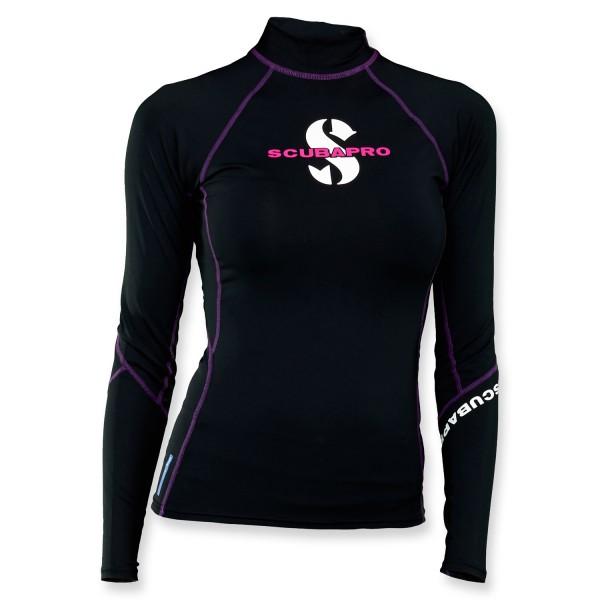 Scubapro T-Flex Lycra Shirt Damen - Onyx langarm UPF 80