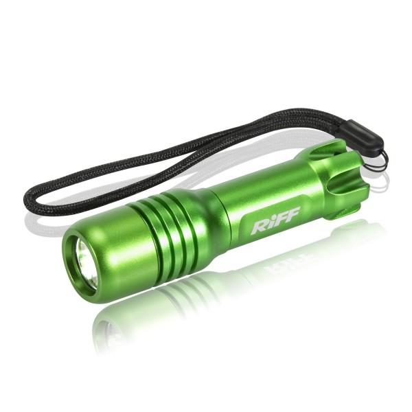 Riff TL-Micro grün - bis zu 500 Lumen