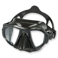 Cressi Nano black - Freitauchmaske mit super kleinem Volumen