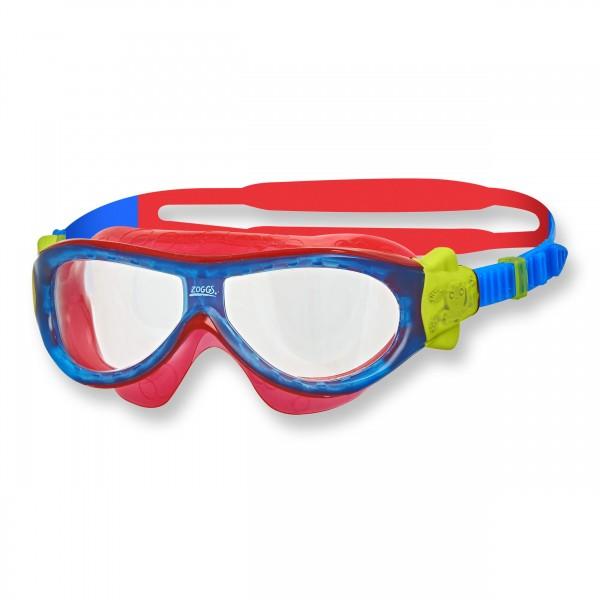 Zoggs Schwimmbrille Phantom Kids blue red clear - 3 bis 6 Jahre