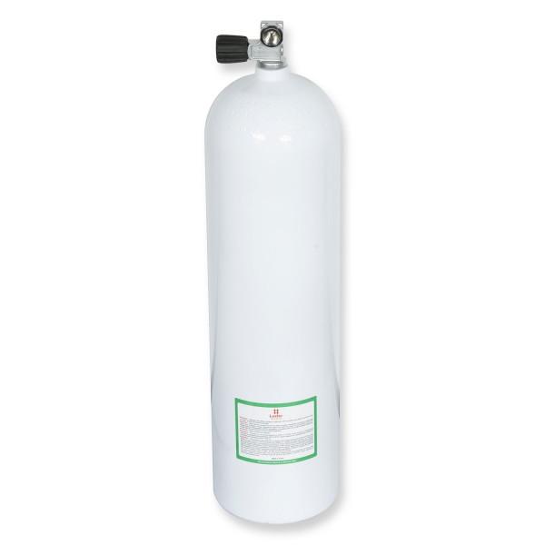 OMS - BTS Alu-Flasche Mono 80cf weiß, ca. 11,1 Liter
