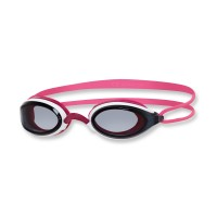 Zoggs Schwimmbrille Fusion AIR - white pink smoke - getöntes Glas