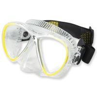 Synergy Twin Trufit gelb - weicher Maskenkörper mit Comfort Strap von Scubapro