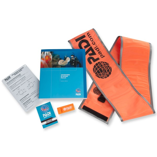 Padi Crewpak 1 zum Advanced Open Water Diver Kurs (D)