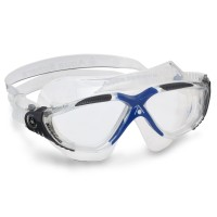 Aqua Sphere Schwimmbrille Vista - clear dark grey blue