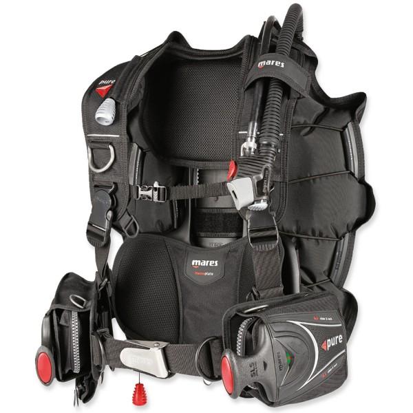 Mares Jacket Pure SLS - vollwertig und leicht, bleiintegriert