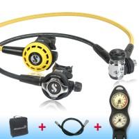 Scubapro MK 17 EVO S600 de luxe Sparset - geprüft und montiert