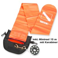 Divestore Safety Set mit Signal-Boje und 15 m Mini Reel