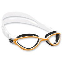 Cressi Thunder Schwimmbrille - weiß orange