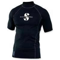Scubapro T-Flex Lycra Shirt Herren - schwarz Kurzarm UPF 80