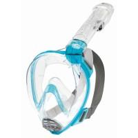 Cressi Vollgesichtsmaske Baron Junior mit Trockenschnorchel aquamarine - ab 7 Jahre