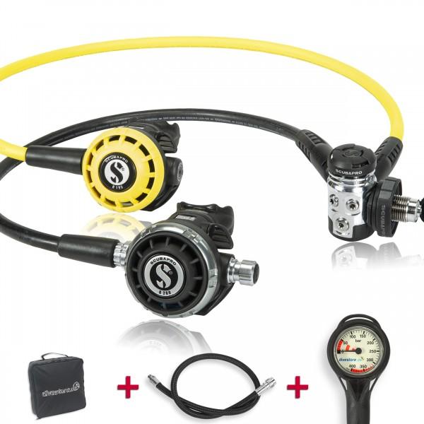 Scubapro MK 17 EVO G260 Komfort Sparset - geprüft und montiert