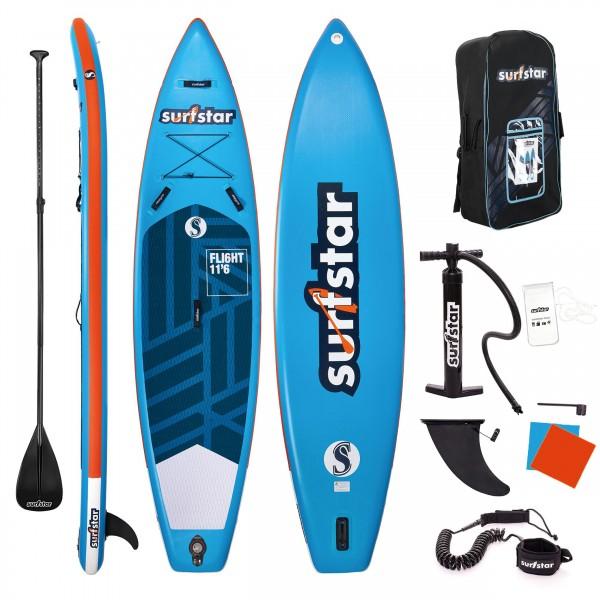 Surfstar SUP 11´6 - komplettes Sparset