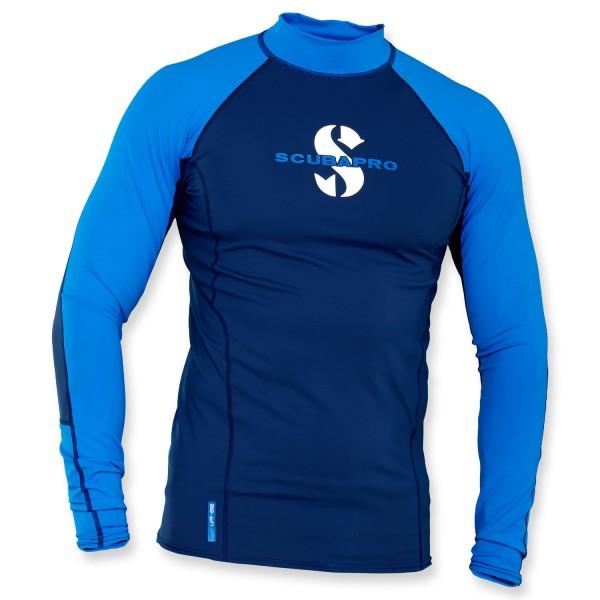 Scubapro T-Flex Lycra Shirt Herren - aegean langarm UPF 80