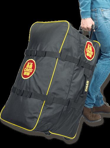 OMS Roller Bag - riesiger, sehr leichter Rollenrucksack - 145 Liter