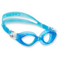 Cressi King Crab Schwimmbrile für Kinder - 7 bis 15 Jahre, blau