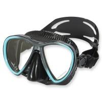 Scubapro Synergy Twin Trufit Tauchmaske - weicher Maskenkörper, türkis
